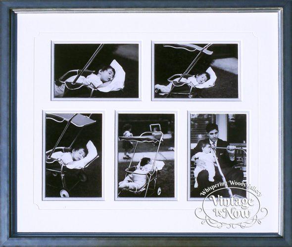Custom Framed Baby Snapshots from 1955