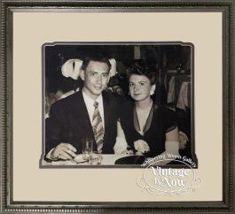 Vintage custom framed photo