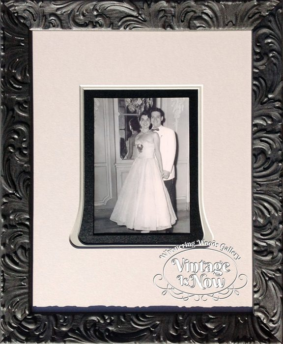 Wedding photo custom framed
