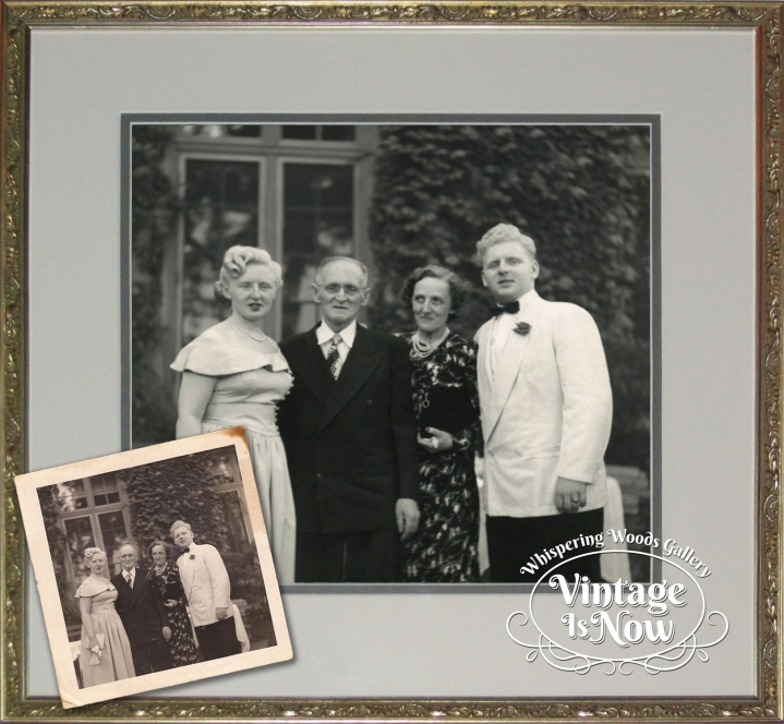 Wedding snapshot restoration and enlargement
