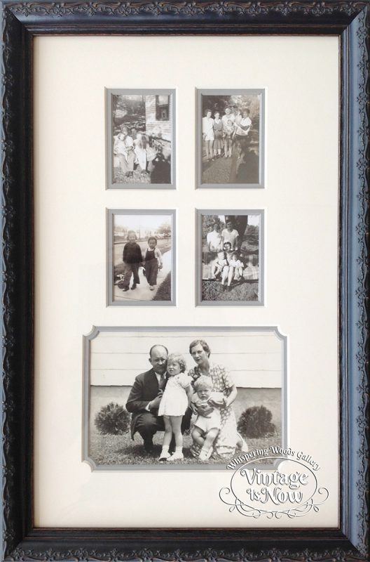 Custom Framed Family Photos
