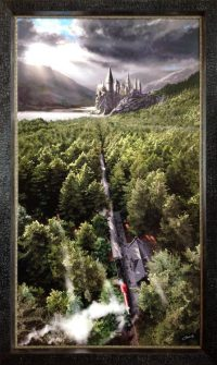 Harry Potter Hogwarts giclee print