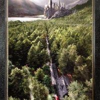 Harry Potter Hogwarts giclee print