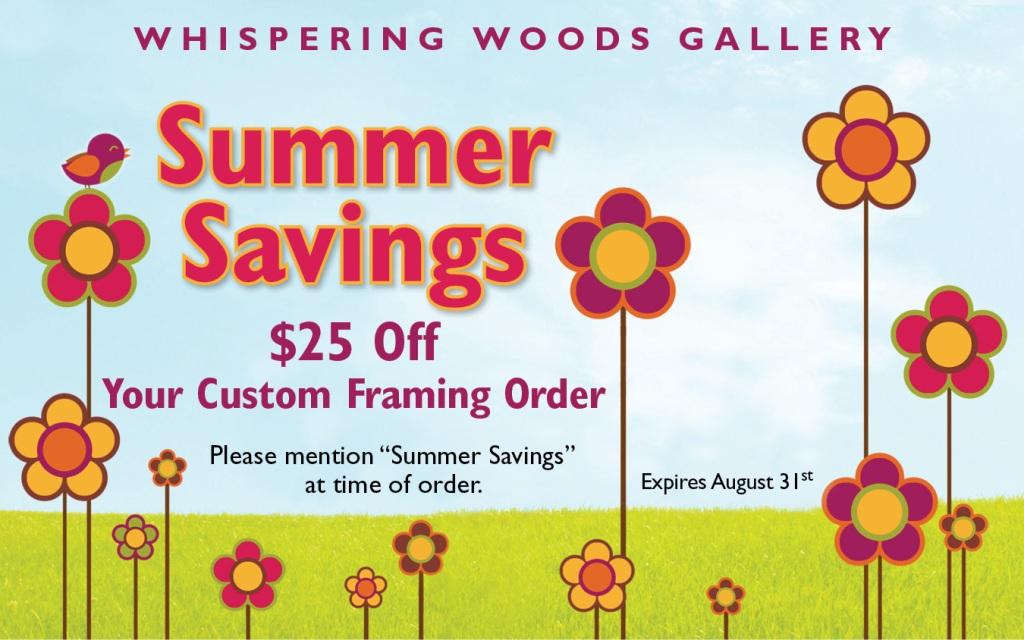 Summer Framing Savings