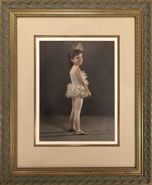 Custom Framed Vintage photograph
