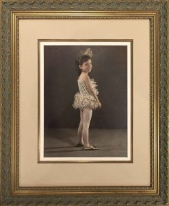 Custom Framed Vintage photograph