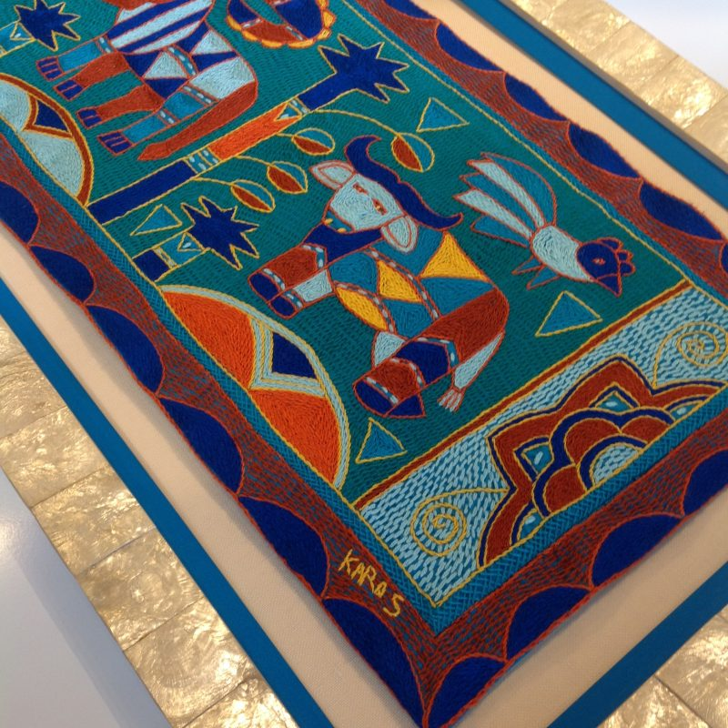 Custom Framed Tapestry