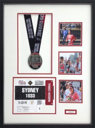 Framed Philadelphia Marathon items