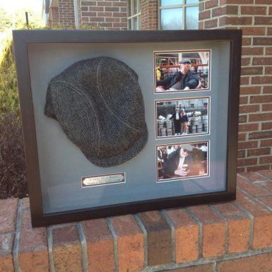 Custom Framed Vintage Hat
