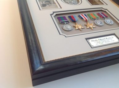 Custom Framed Military Medals