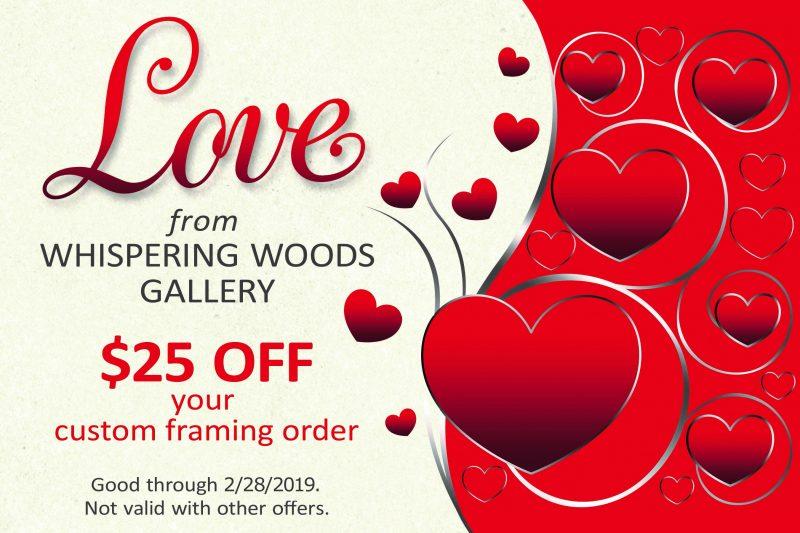 Custom Framing offer