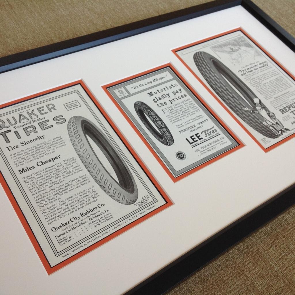 Vintage Tire Advertisements