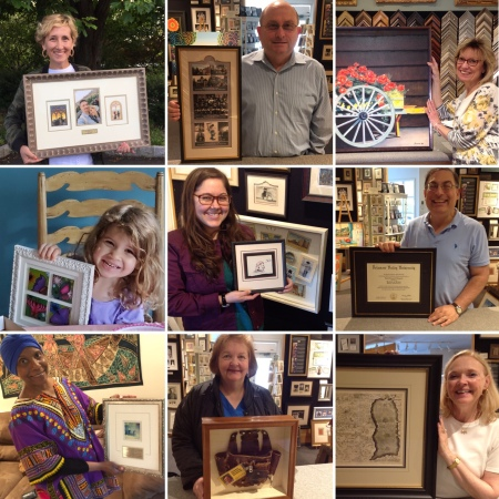 Whispering Woods Gallery customers