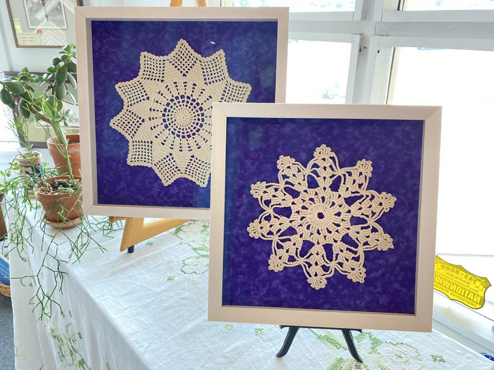Custom Framed Doilies