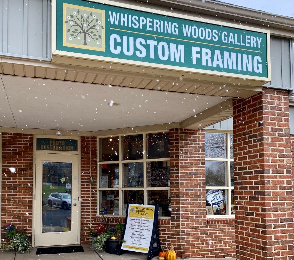 Whispering Woods Gallery Custom Framing in Holland Pa