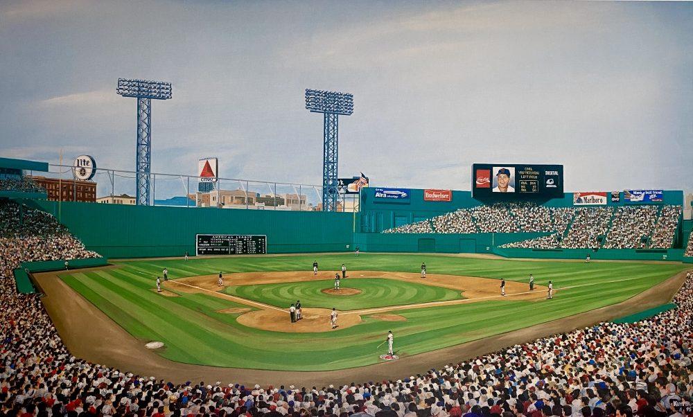 Fenway Park Ballpark, Green Monster of Beantown, Mike Kuyper,print