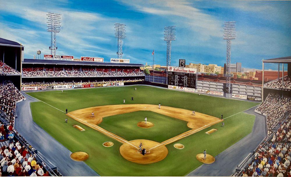 Memories of 21st & Lehigh by Mike Kuyper. Connie Mack Stadium in Philadelphia